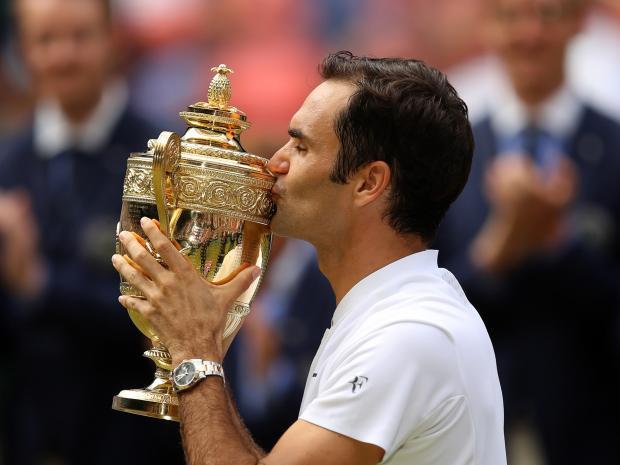Federer a Wimbledon
